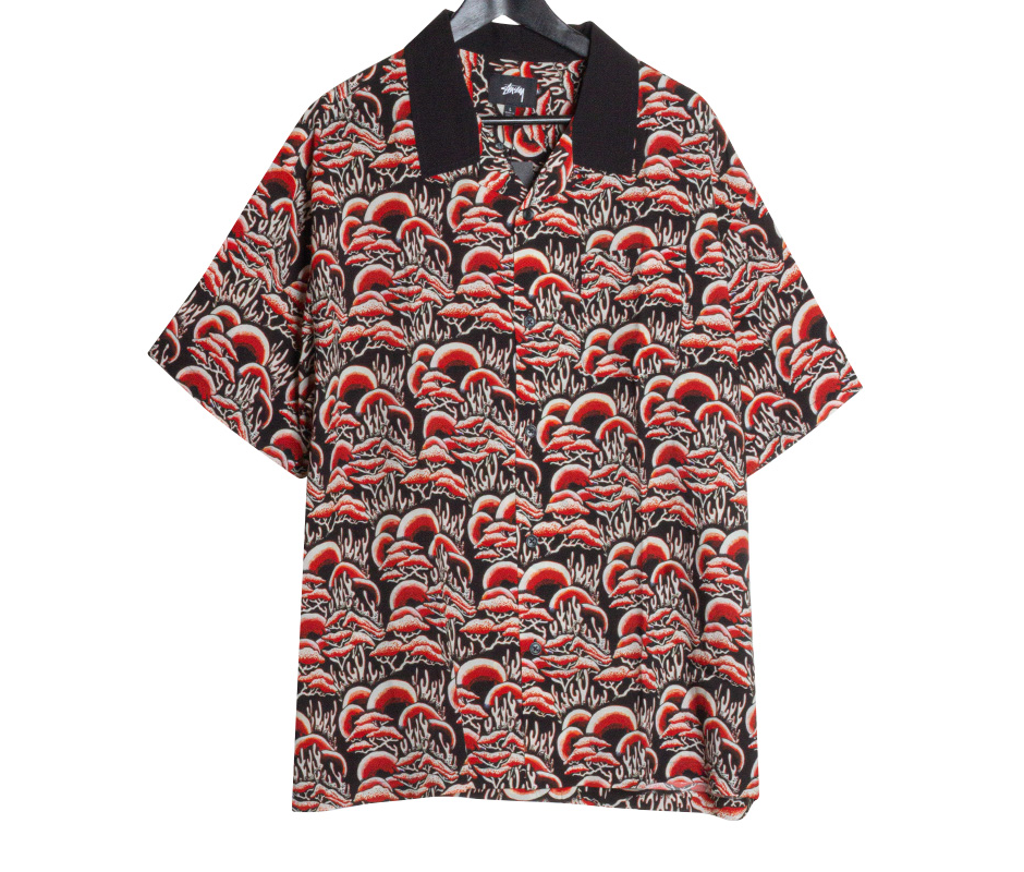 Stussy Coral Pattern Shirt Red, Shirts & Flannels, Stüssy, My Favorite Things