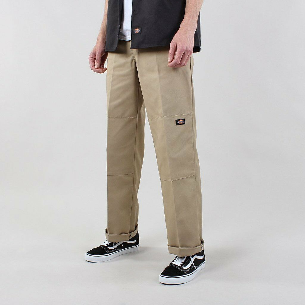Dickies - Double Knee Work Loose Fit Pant Khaki, Pants, Dickies, My Favorite Things