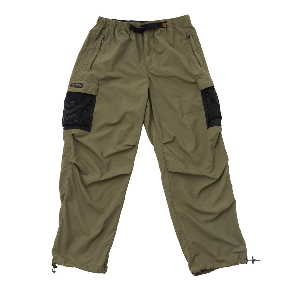 Bronze - Mesh Pocket Cargo Pants Olive, Pants, Bronze, My Favorite Things