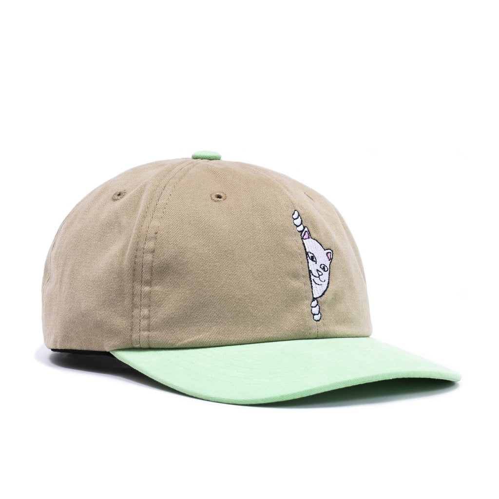 Rip N Dip - Peeking Nerm Strapback Tan, Caps, Rip N Dip, My Favorite Things