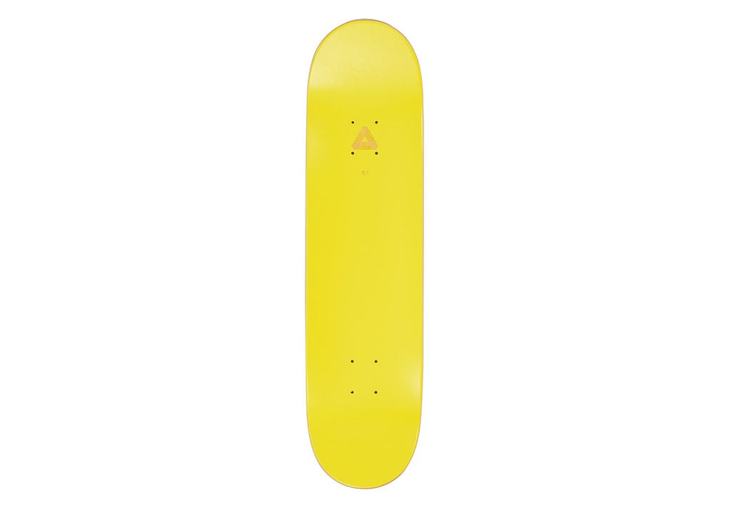 Palace Skateboards - Banana Yellow 8.1""