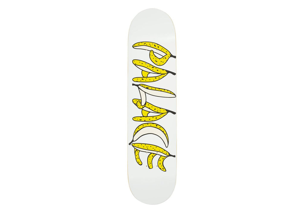 Palace Skateboards - Banana White 7.75""
