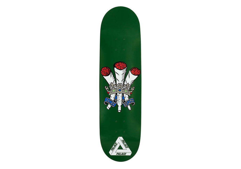 Palace Skateboards - Ich Bun Green 8.6""