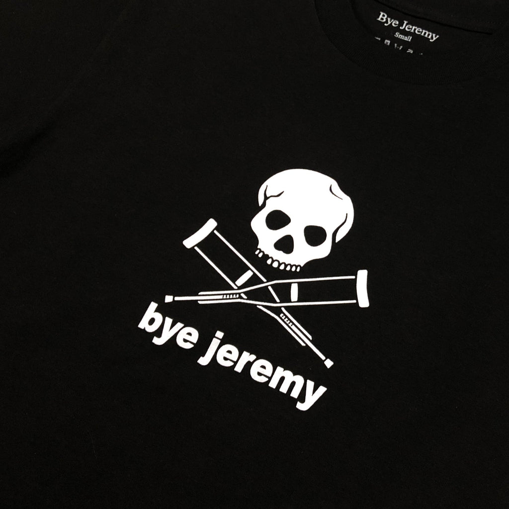 Bye Jeremy - Skull T-Shirt Black, T-Shirts, Bye Jeremy, My Favorite Things