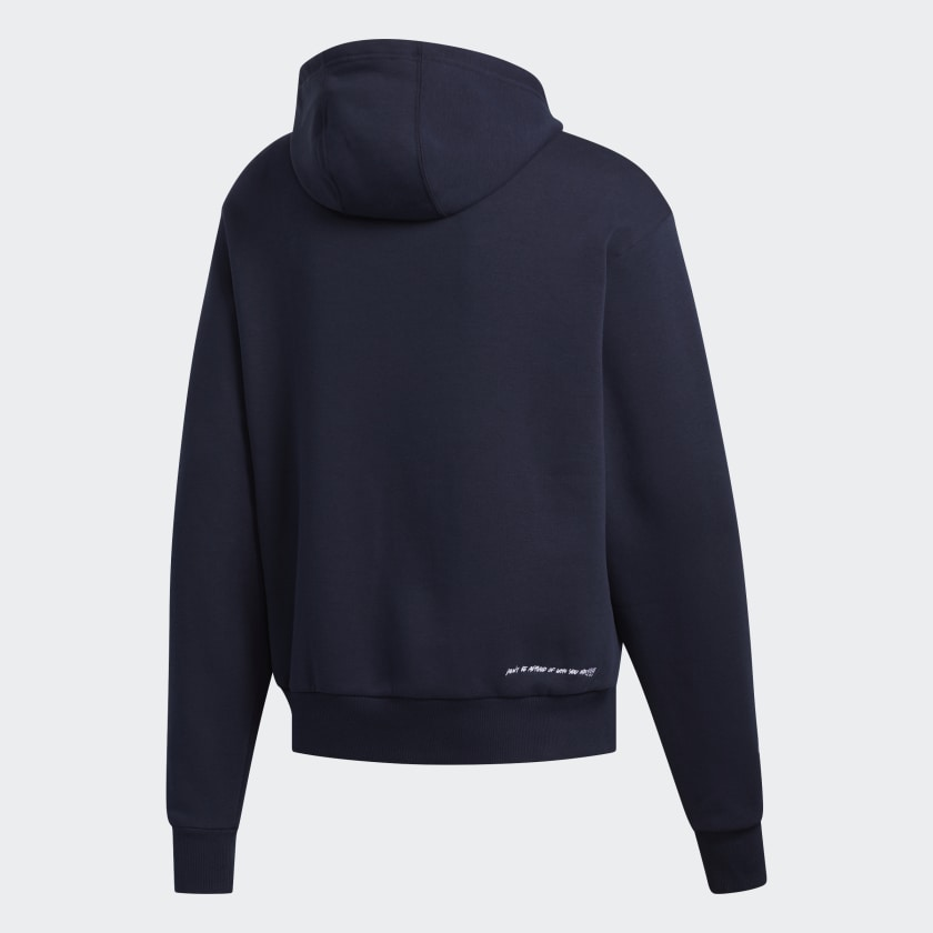 Adidas X Unity Press - Hooded Sweat Legend Ink/White