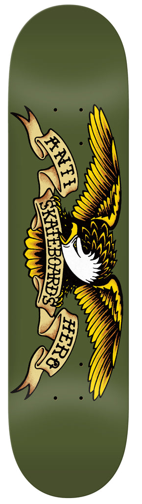 "Antihero Classic Eagle 8.38"" (Dark Green), Decks, Antihero Skateboards, My Favorite Things"