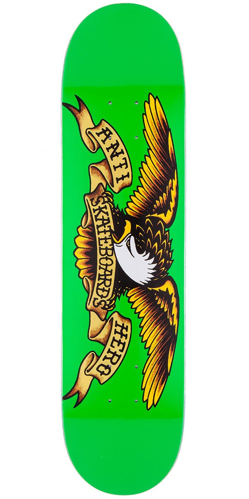 "Antihero Classic Eagle 7.81"" (Kelly Green), Decks, Antihero Skateboards, My Favorite Things"