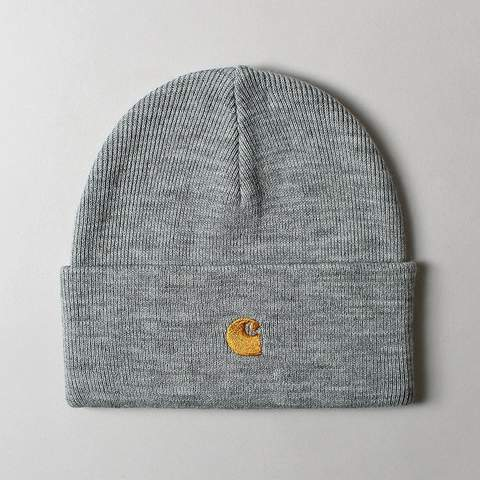 Carhartt Chase Beanie Grey, Beanies, Carhartt WIP, My Favorite Things