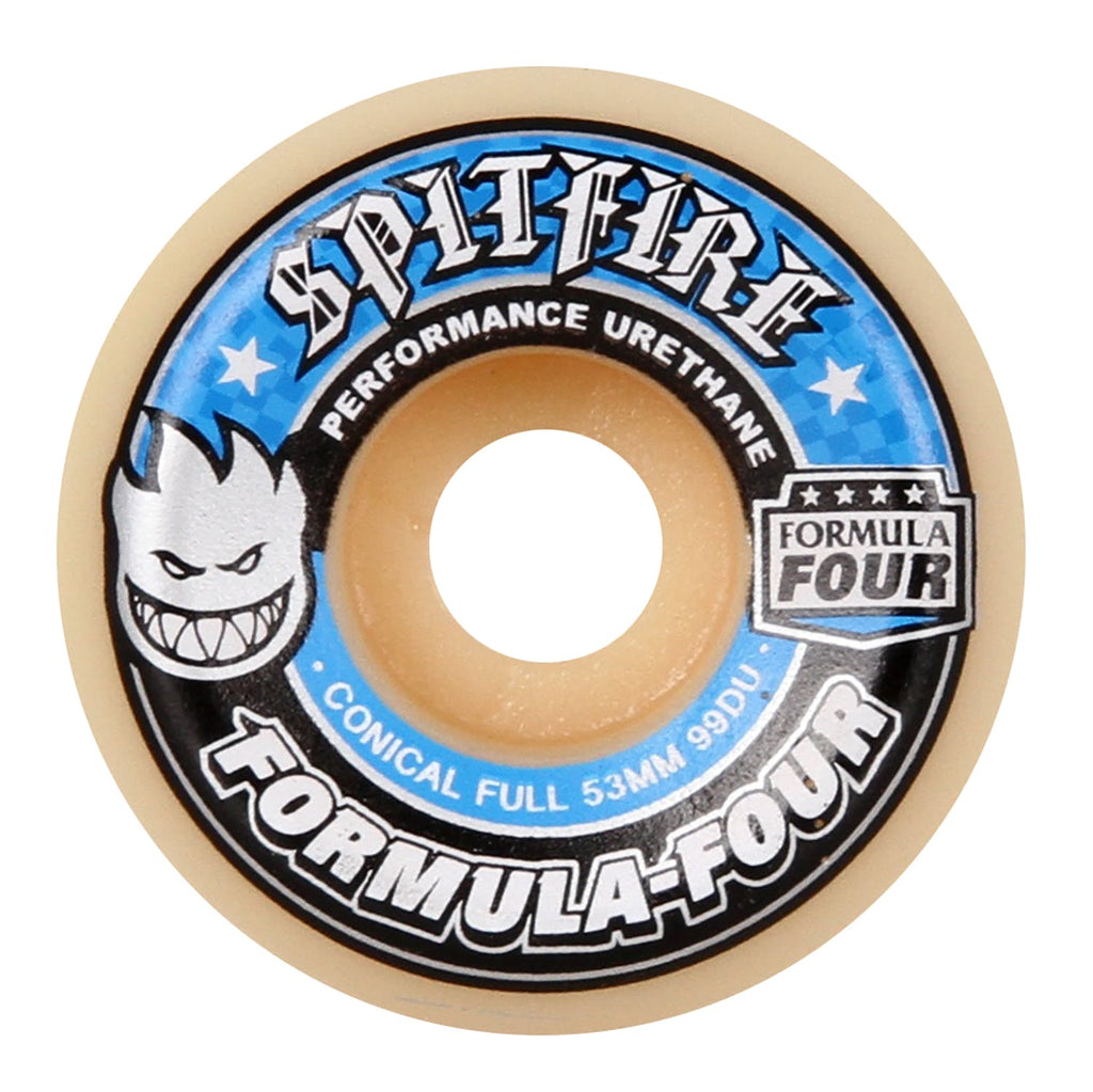 Spitfire Formula Four 99D Conical Full 53mm, Wheels, Spitfire Wheels, My Favorite Things