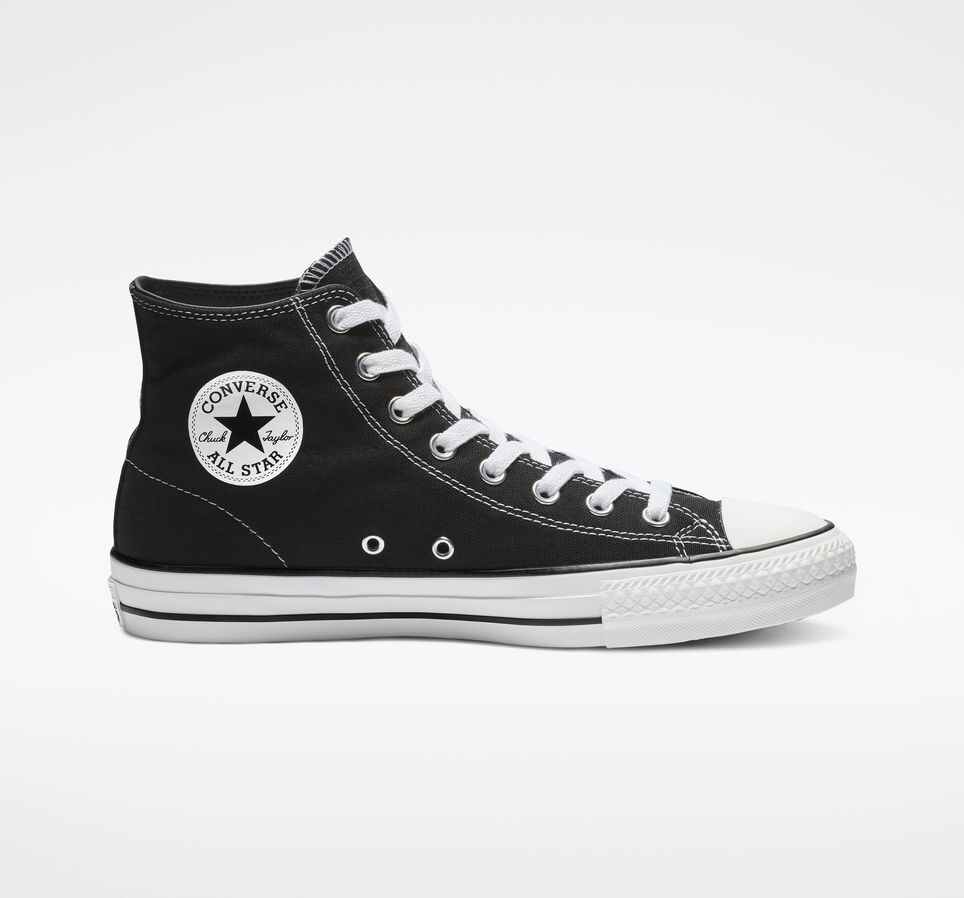 Converse Cons CTAS Hi Black/White Canvas, Shoes, Converse, My Favorite Things