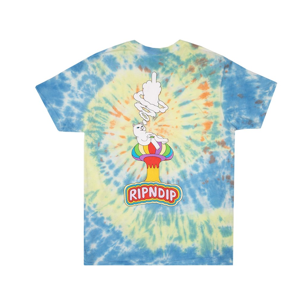 Rip N Dip Smokin Tee Multi Tie Dye, T-Shirts, Rip N Dip, My Favorite Things
