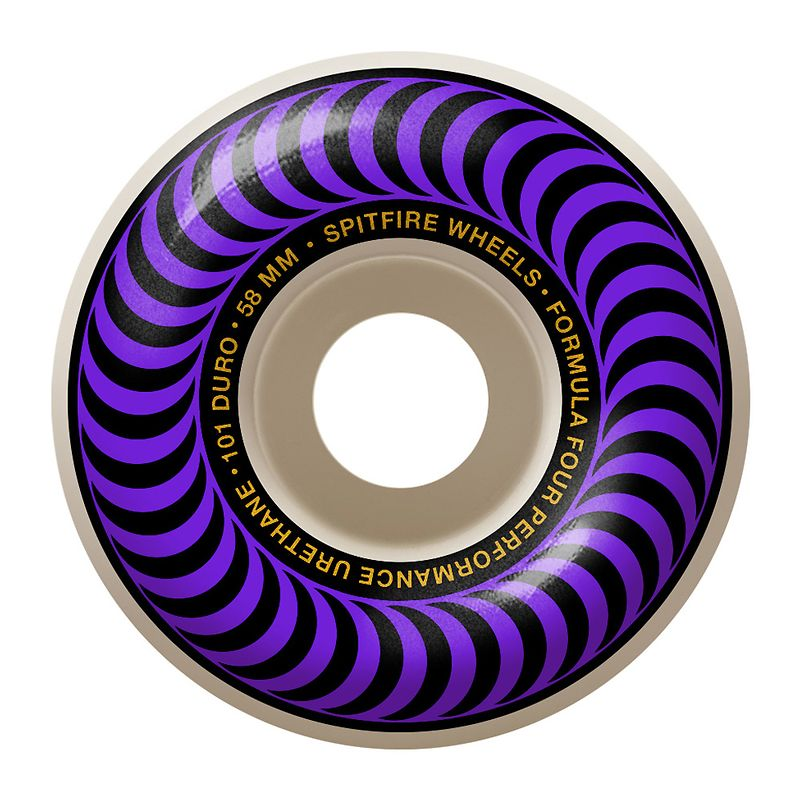 Spitfire Formula 4 101D Classic 58mm, Wheels, Spitfire Wheels, My Favorite Things