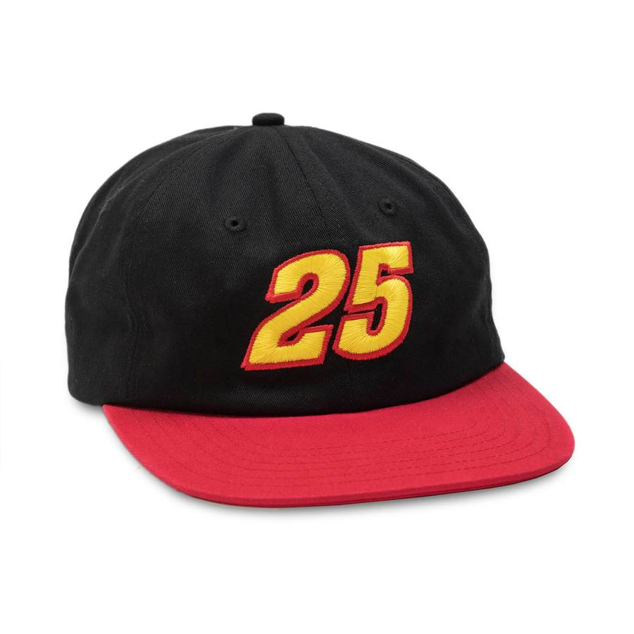 Quartersnacks - Racer Cap Black/Red, Caps, Quartersnacks, My Favorite Things