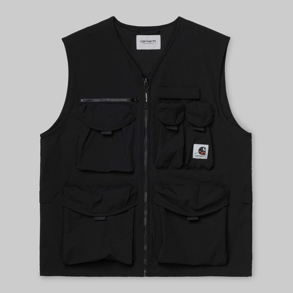 Carhartt Hayes Vest Black, Jackets, Carhartt WIP, My Favorite Things