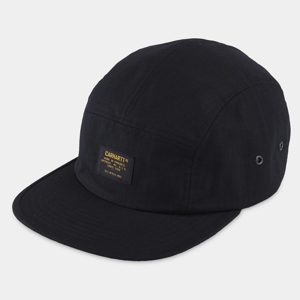 Carhartt Military Cap Black, Caps, Carhartt WIP, My Favorite Things