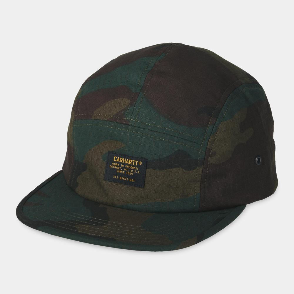 Carhartt Military Cap Camo Evergreen, Caps, Carhartt WIP, My Favorite Things