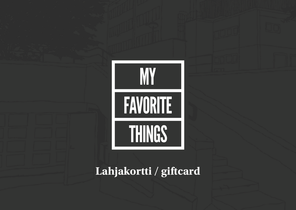 Gift Card - Lahjakortti, Gift Card, My Favorite Things, My Favorite Things