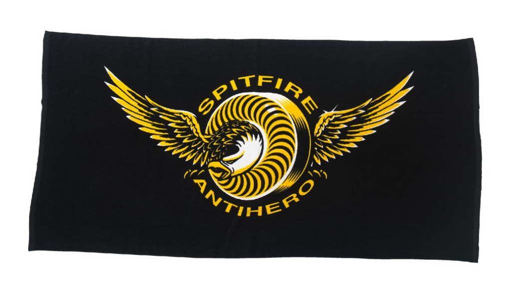 Spitfire x Antihero Classic Eagle Beach Towel, Accessories, Spitfire Wheels, My Favorite Things