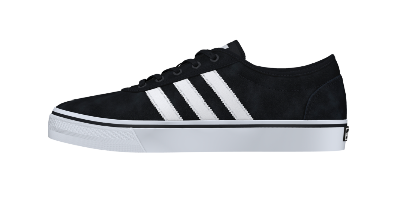 Adidas Adi Ease Black/White, Shoes, Adidas Skateboarding, My Favorite Things