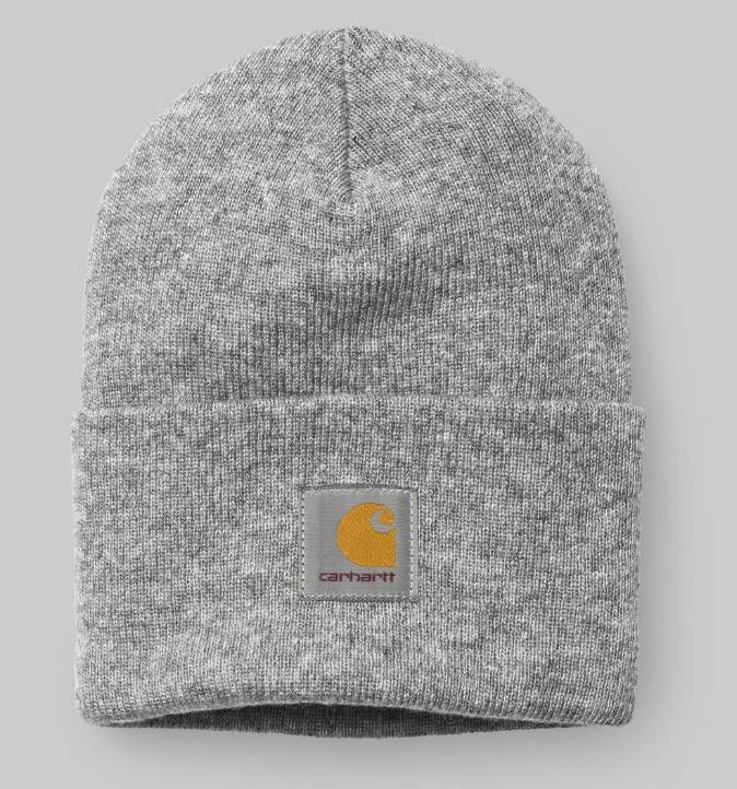 Carhartt Acrylic Watch Hat Grey Heather - My Favorite Things