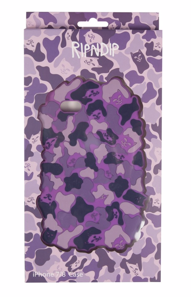 Rip N Dip Nerm Camo iPhone Case 7/7S Purple, Other Accessories, Rip N Dip, My Favorite Things