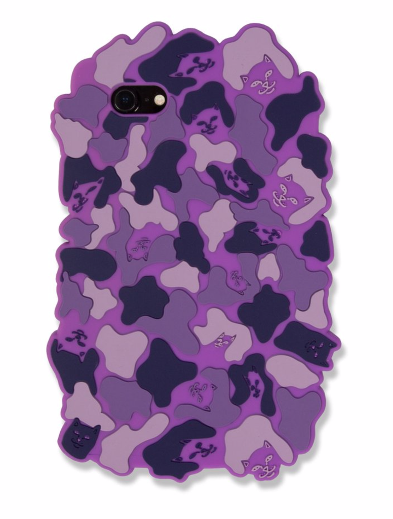 RIPNDIP - Nerm Camo iPhone Case 7/7S Purple, Other Accessories, RIPNDIP, My Favorite Things