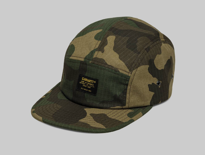 Carhartt Military Cap Camo Laurel, Caps, Carhartt WIP, My Favorite Things