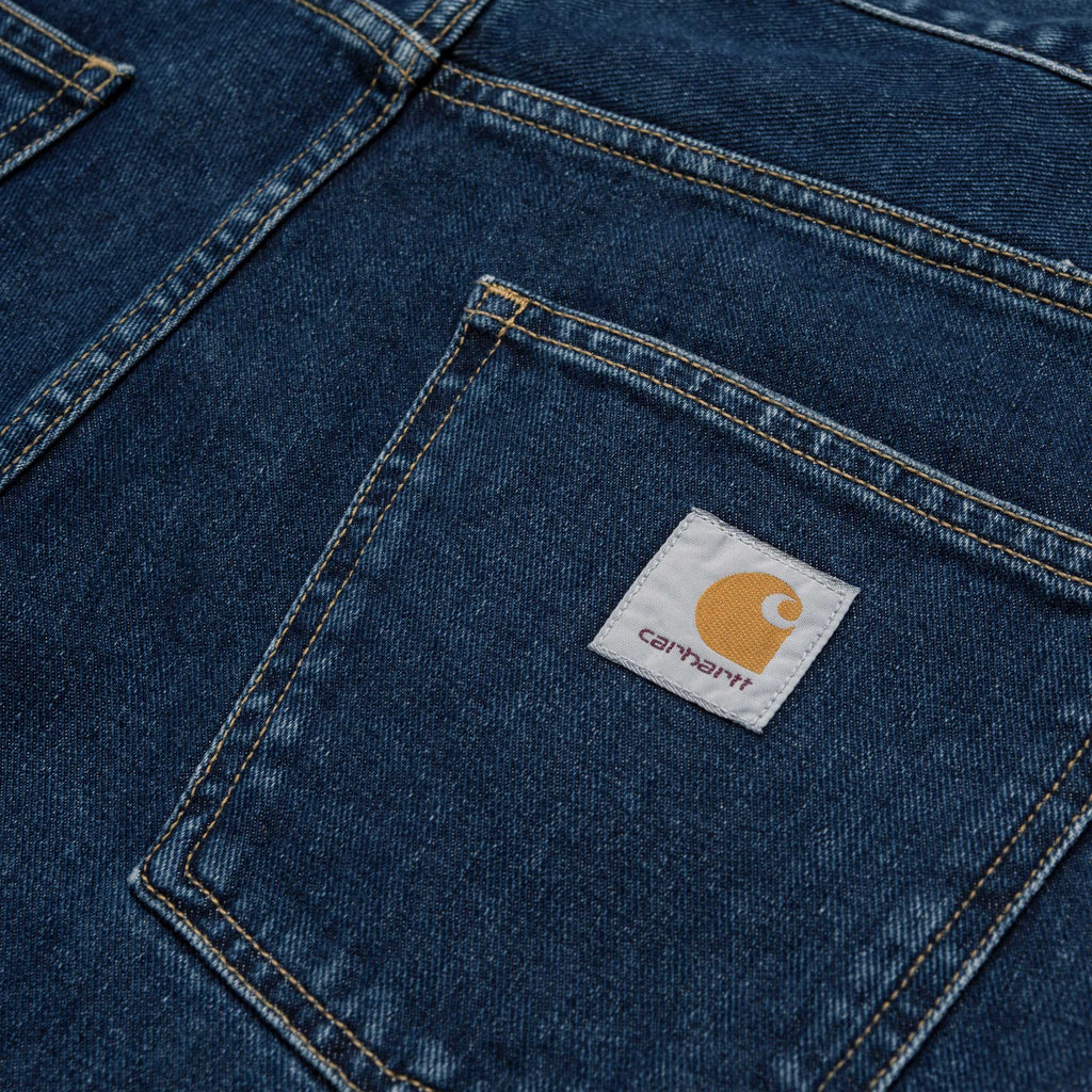Carhartt - Newel Pant Blue Stone Washed, Pants, Carhartt WIP, My Favorite Things