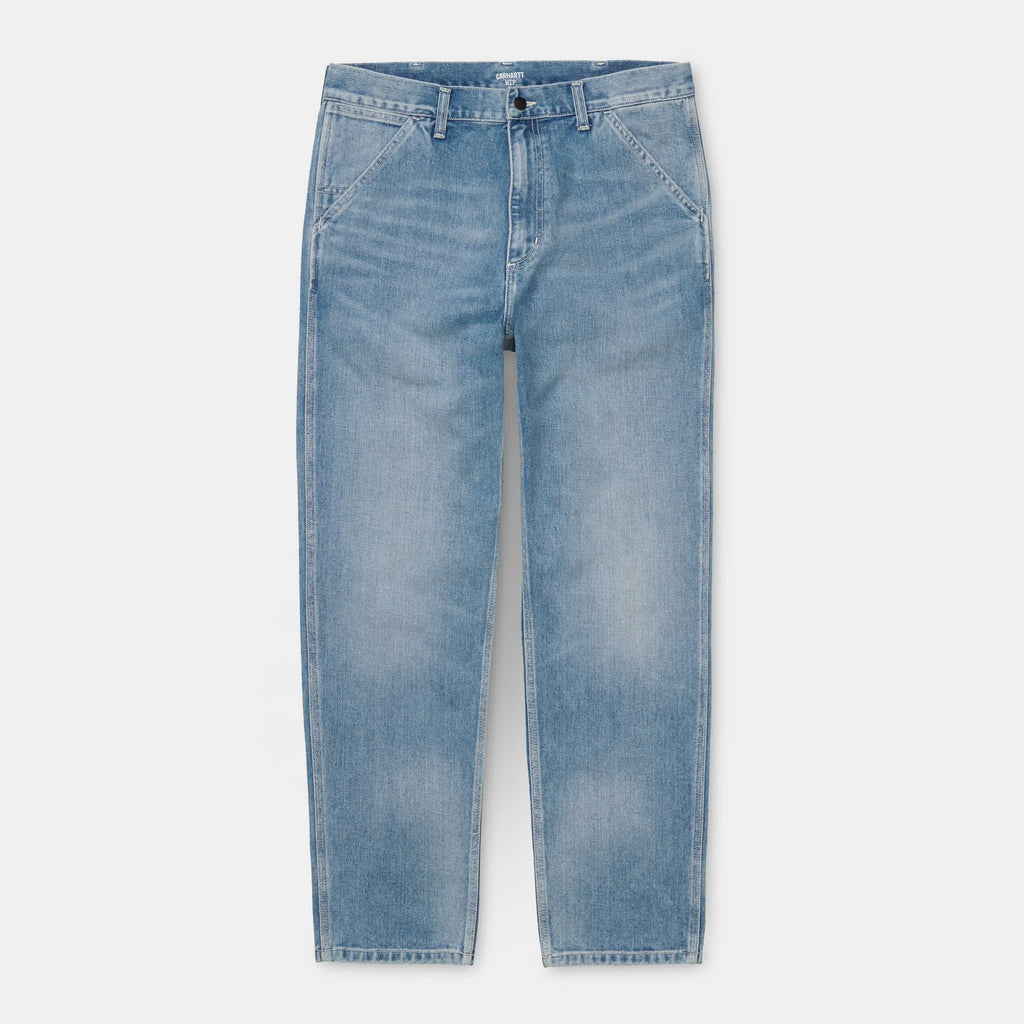 Carhartt - Penrod Pant Blue Light Used Wash