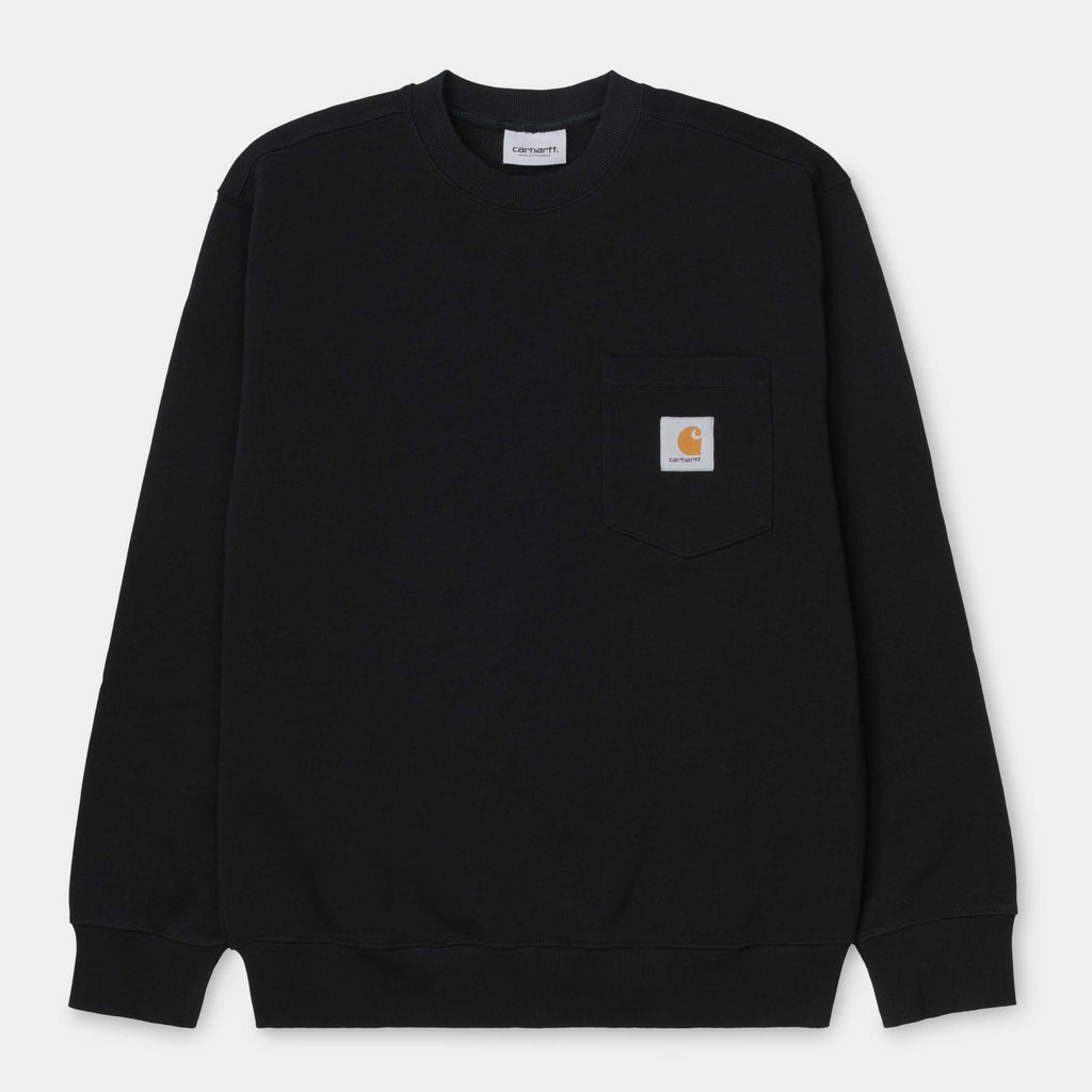 Carhartt Pocket Sweat Black, Crewnecks & Hoodies, Carhartt WIP, My Favorite Things