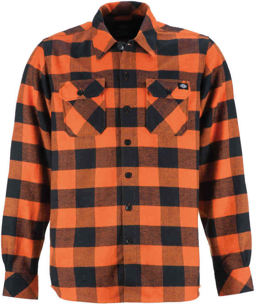 Dickies - Sacramento L/S Shirt Bright Orange