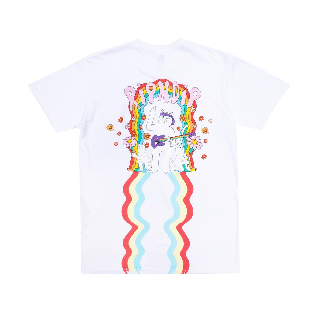 Rip N Dip - Groovy Nerm Tee White, T-Shirts, Rip N Dip, My Favorite Things