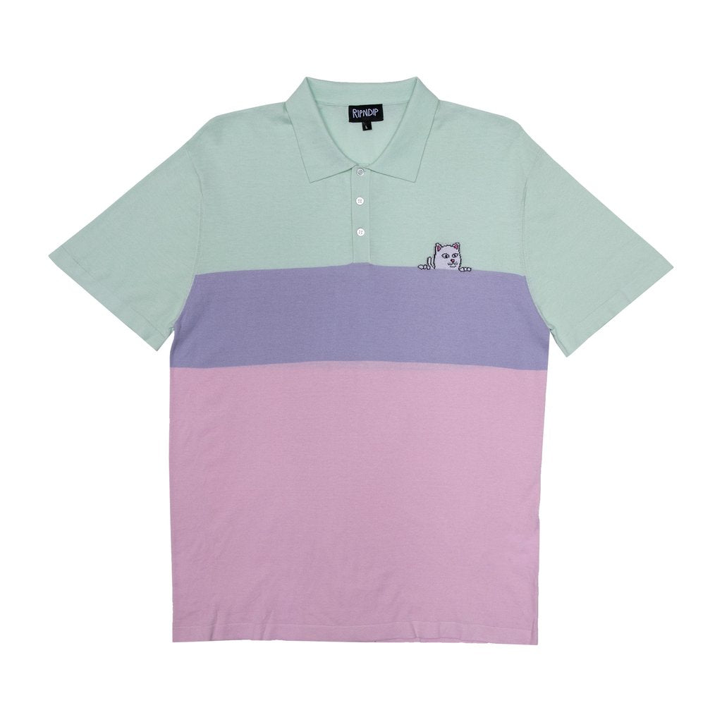 Rip N Dip - Peeking Nerm Knitted Polo Multi, Shirts & Flannels, Rip N Dip, My Favorite Things