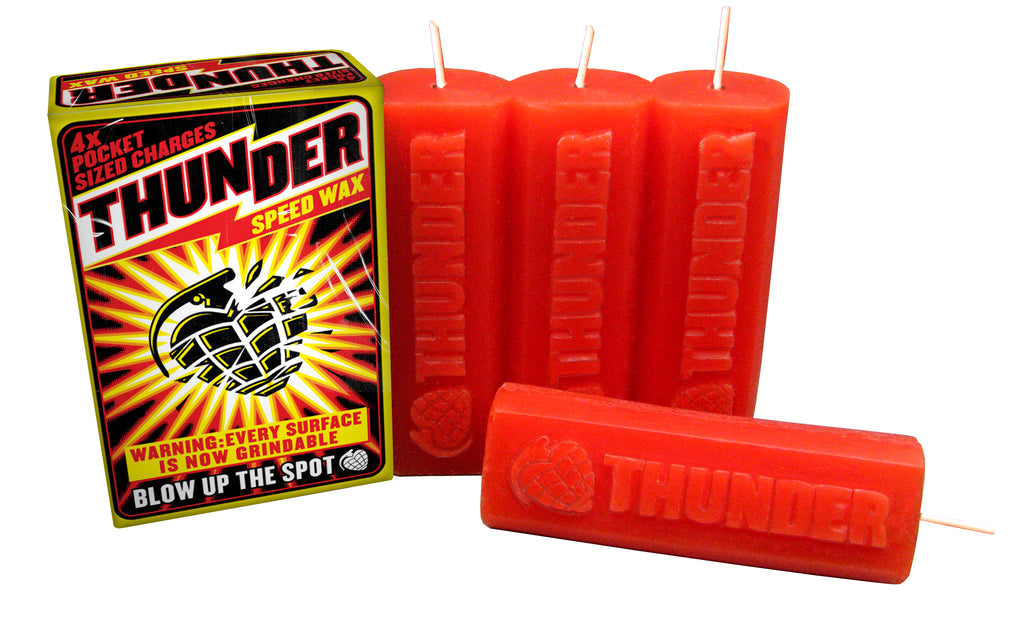 Thunder Curb Wax, Wax, Thunder Trucks, My Favorite Things
