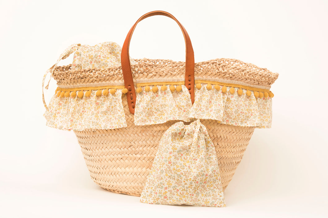 Basket with Liberty Meadow Sweet