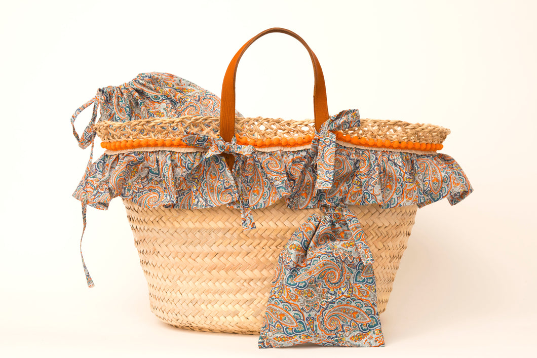 Basket with Liberty Tessa