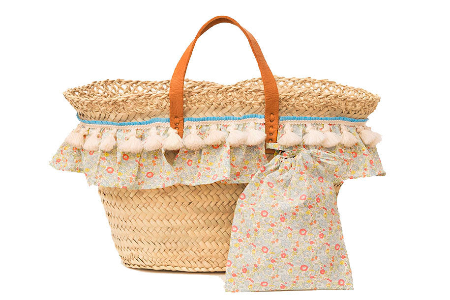 Basket with Liberty Betsy Ann (handbag)