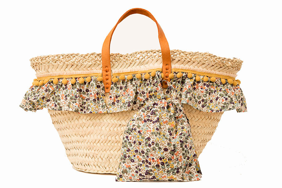 Basket with Liberty Chive (handbag)