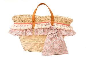 Basket with Liberty Eloise (handbag)