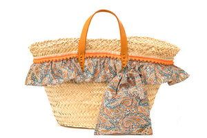 Basket with Liberty Tessa (handbag)