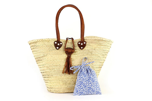 Basket with Liberty Interior drawstring Glenjade