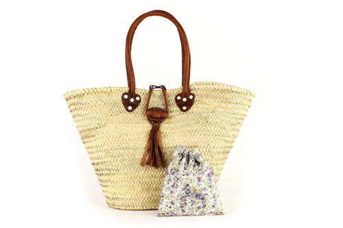 Basket with Liberty Interior drawstring Keiko