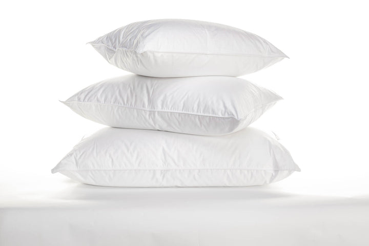 Flora Pillows - 600 White Goose Down