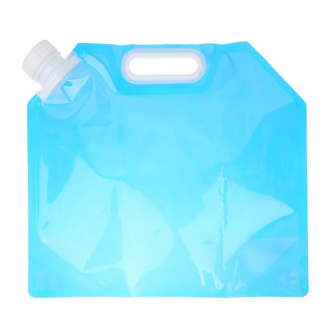 Portable 5L Folding Water Storage Lifting Bag Camping Hiking Survival Food grade PE Water Bags