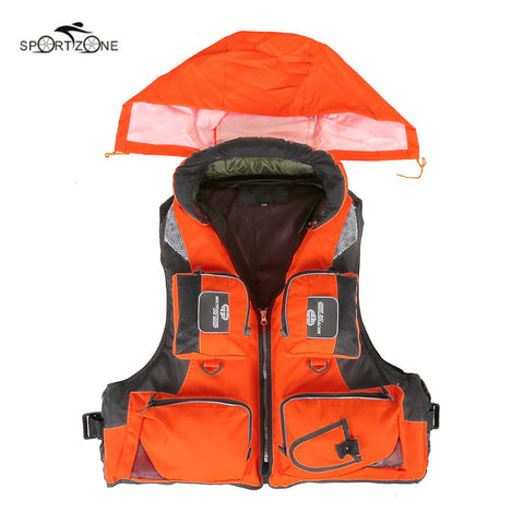 L-XXL Men Women Fishing Life Vest Outdoor Water Sports Safety Life Jacket For Boat Drifting Survival Swimwear Colete Salva-Vidas