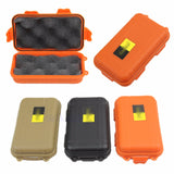 EDC Outdoor Survival Waterproof Equipment Sealed Box Dustproof Pressure-Proof W15