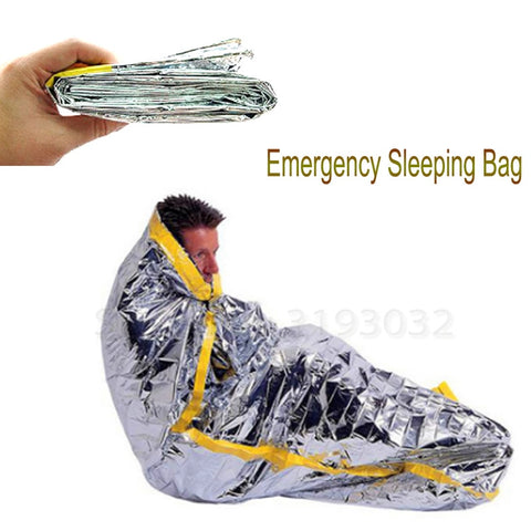 Outdoor Tactical Bushcraft EDC emergency first aid WaterProof blanket sleeping bag hunt Hike gear Camp equipment Safety Survival