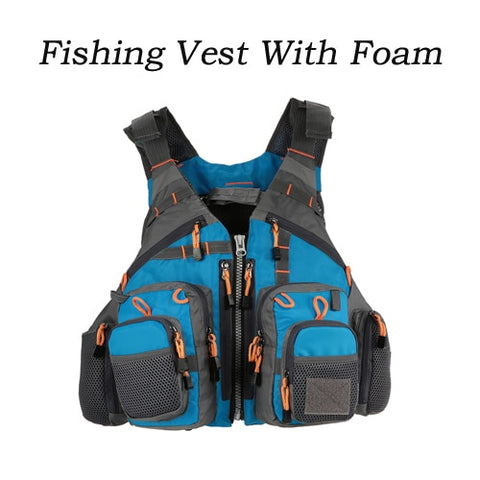Lixada Outdoor Fishing Vest Life Safety Jacket Swimming Sailing Waistcoat Vest Floatation Floating Superior 209lb Bearing Life
