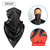 CoolChange Summer Outdoor Sports Scarf Cycling Bandana Bicycle Equipment Headwear Ride Neck Mask Bike Triangle Headband Scarf
