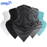COPOZZ Bicycle Bandana Outdoor Sport Scarf Cycling Bandanas Men Women Headband Wristband for Hiking Motorcycle Bike Buy 2 Get 1